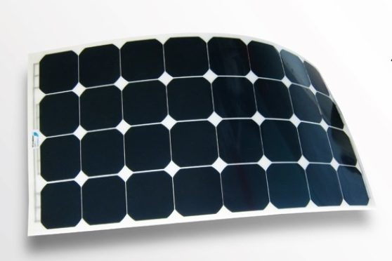 Flexible solar panels - Solbian