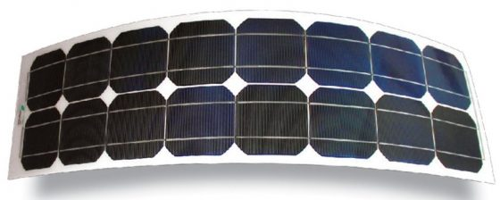 Electric Boating products - flexible solar panels