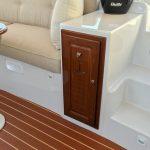 Duffy 22' Cuddy Cabin - interior storage