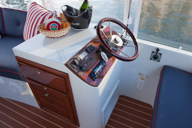 duffy 22 39 sun cruiser shop electric boats eco boats australia. Black Bedroom Furniture Sets. Home Design Ideas