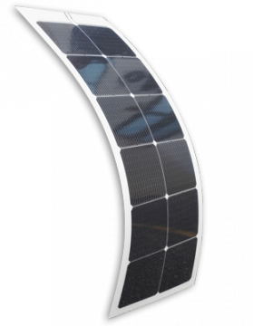Marine solar panels - SR Solbian Flexible solar panels