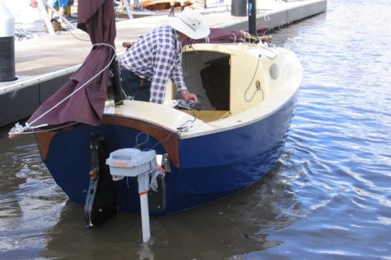 13' Timber / John Welsford - electric outboard boat motor examples