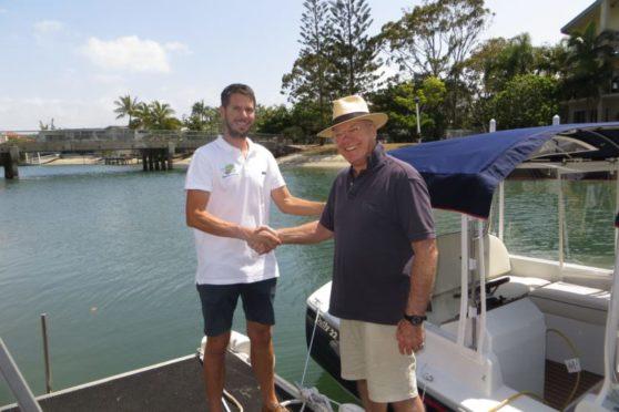 Duffy-electric-boat-Noosa