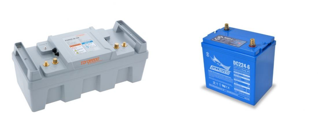 Marine batteries