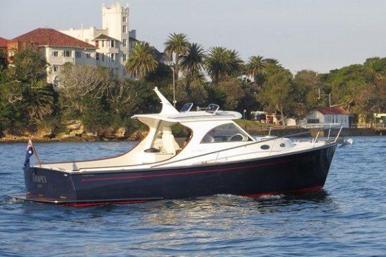 Sydney Harbour 27' powered by Bellmarine electric inboard motor