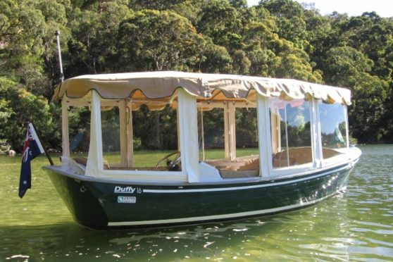 Duffy electric boat testimonial, 16ft Duffy Classic, Sydney