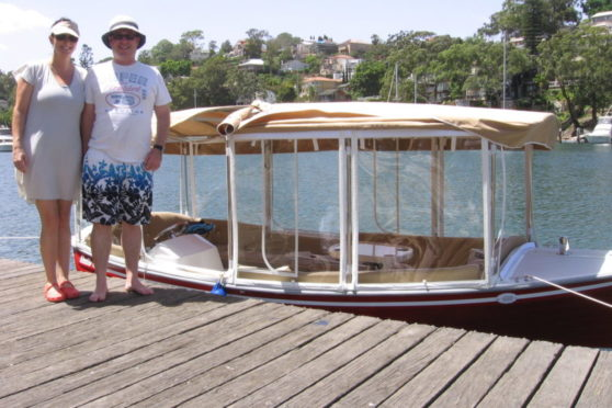 Duffy electric boat testimonial - 6' Duffy Classic, Pittwater