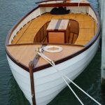 Timber River Boat with electric onboard