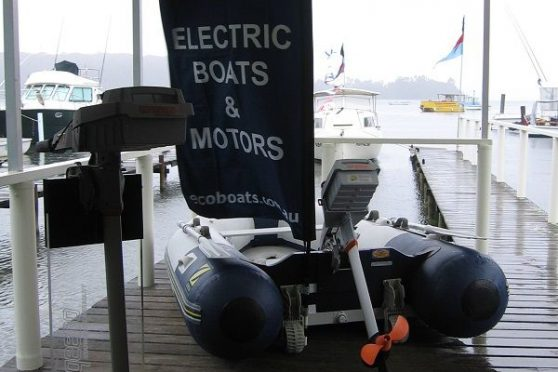 Narooma Boats Afloat Festival - Eco Boats stand