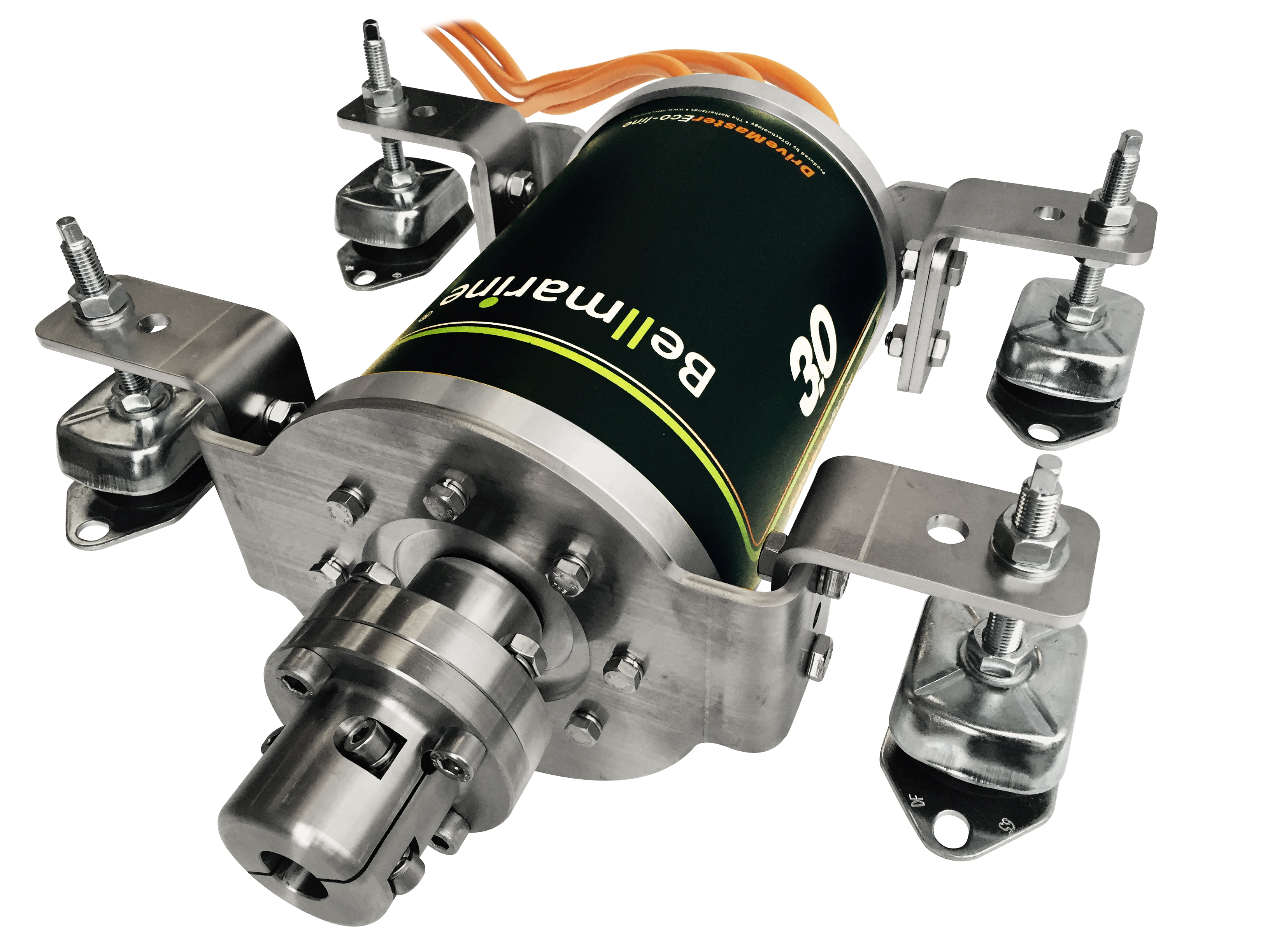 Bellmarine drivemaster eco line electric inboard eco for Air cooled outboard motor kits