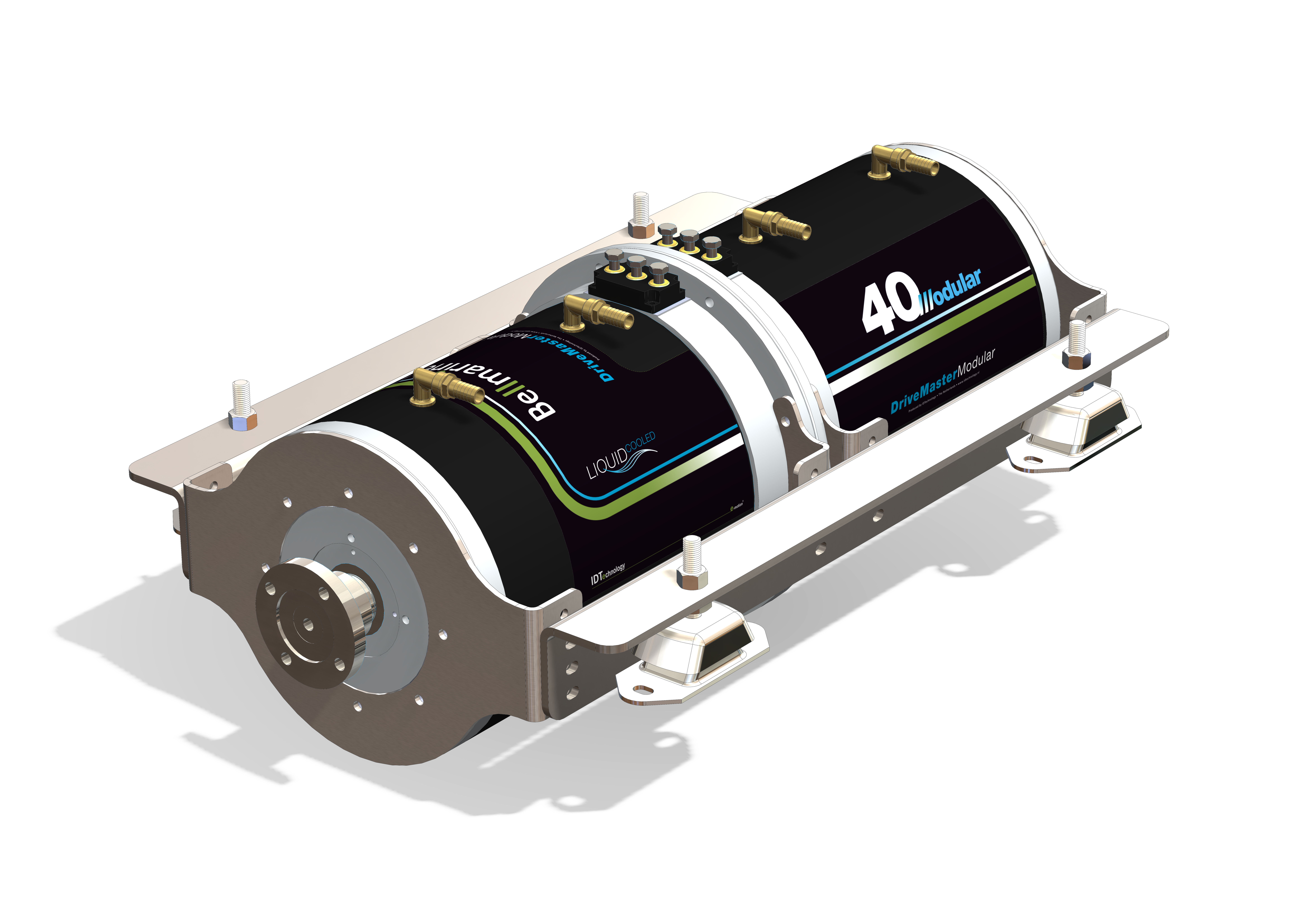 Bellmarine Drivemaster Modular Electric Inboard Eco