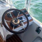 Duffy 22' Cuddy Cabin - steering wheel