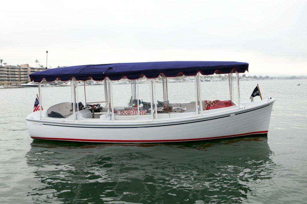 Solar Panels For Boats >> Duffy 22' Bay Island | Shop Electric Boats | Eco Boats Australia