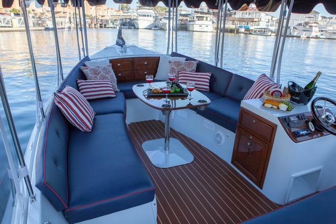 Solar Panels For Boats >> Duffy 22' Sun Cruiser | Shop Electric Boats | Eco Boats Australia