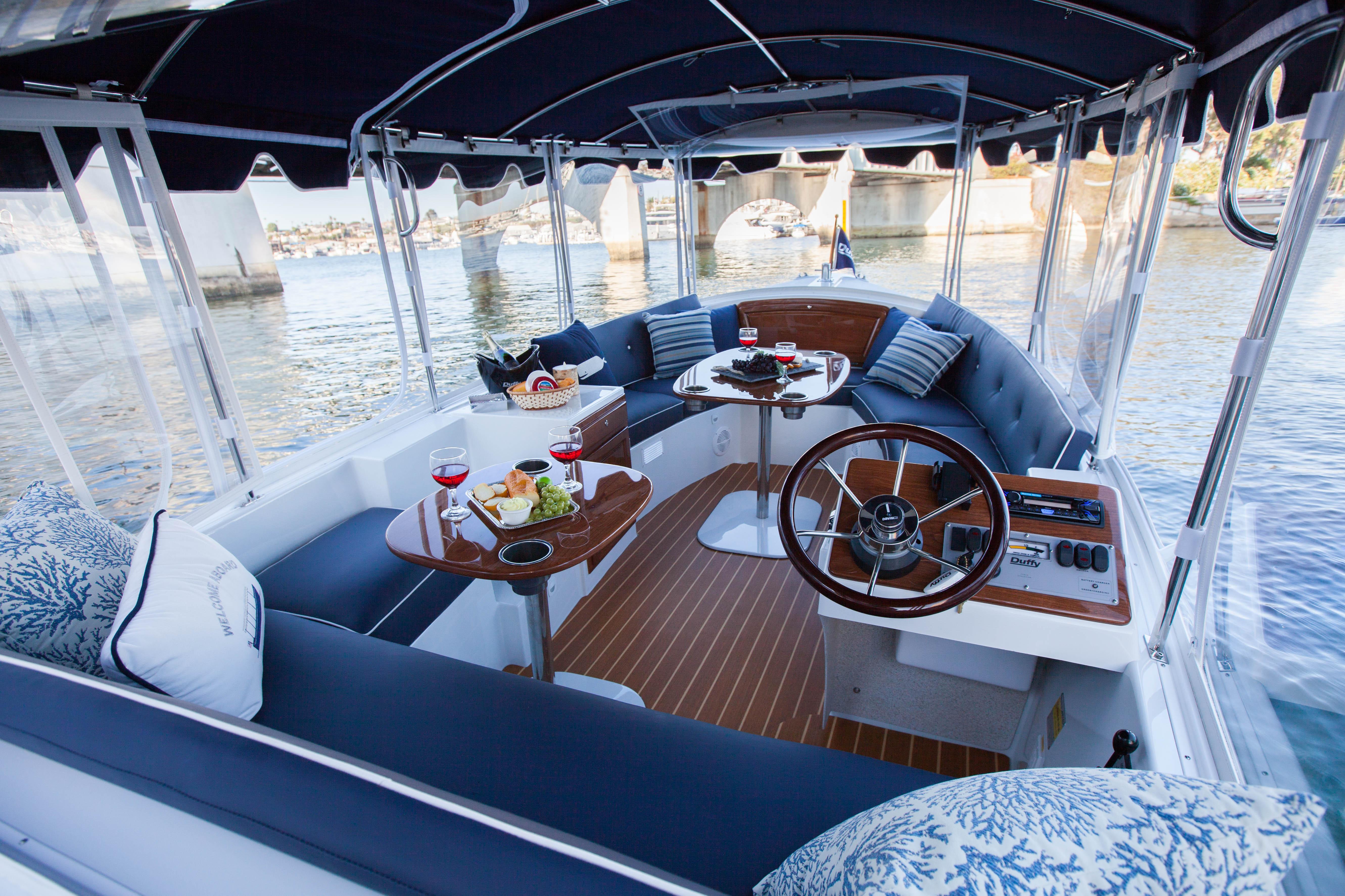Duffy 18 Snug Harbor Shop Electric Boats Eco Boats