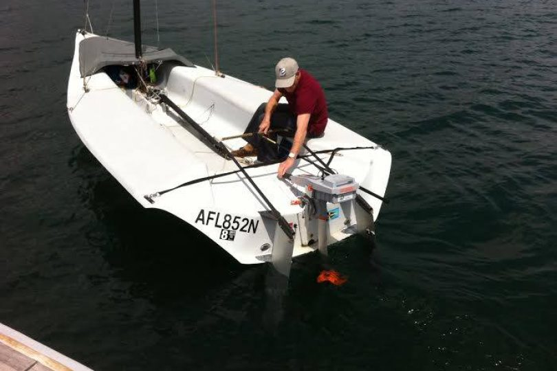 18' fiberglass Skud sailboat | Eco Boats