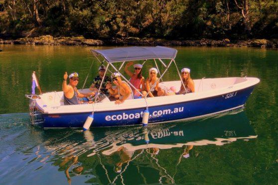 Torqeedo Cruise 2.0 on a fiberglass boat