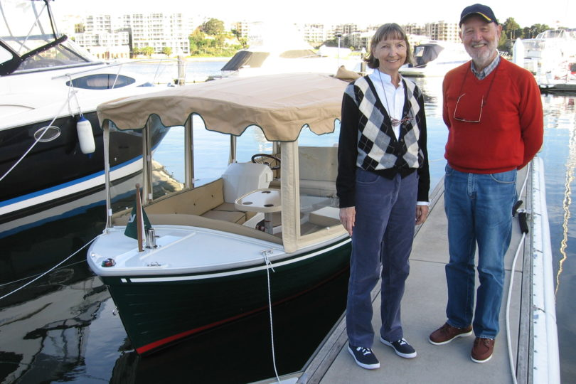Duffy electric boat testimonial, 16' Duffy Classic, Sydney