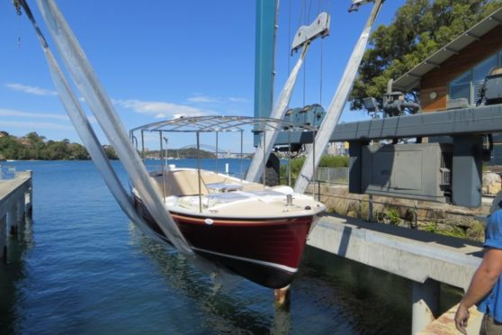 Duffy electric boat, 16' Back Bay, Sydney