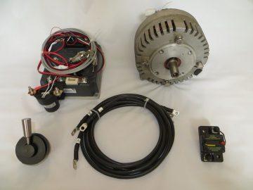 Budget electric inboard motor