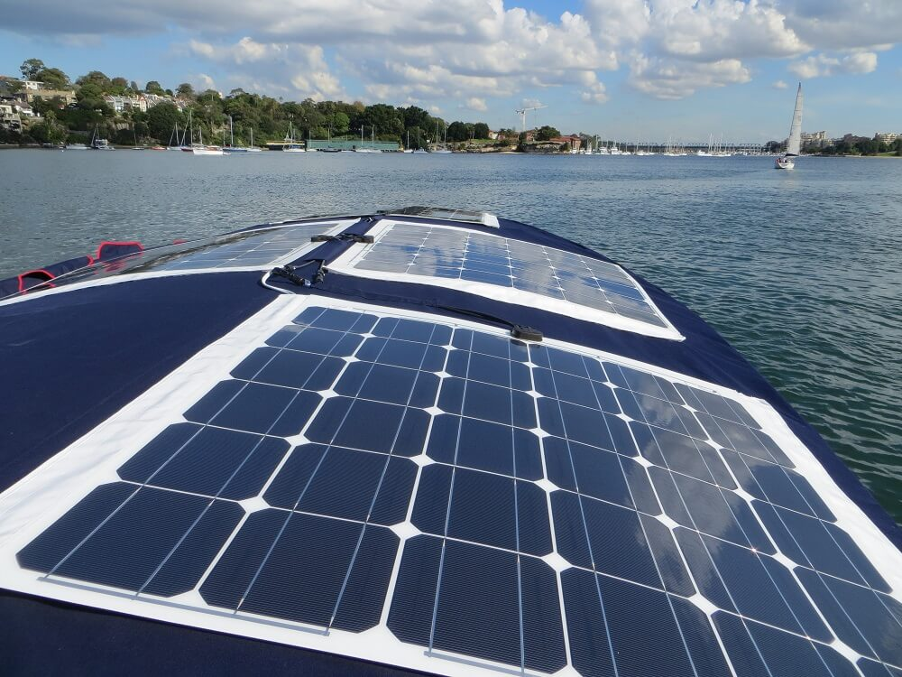 Solar Panels For Boats >> Flexible Solar Panels Eco Boats Australia Buy From The Experts