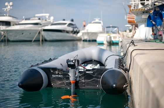 electric boating and the environment - electric motor