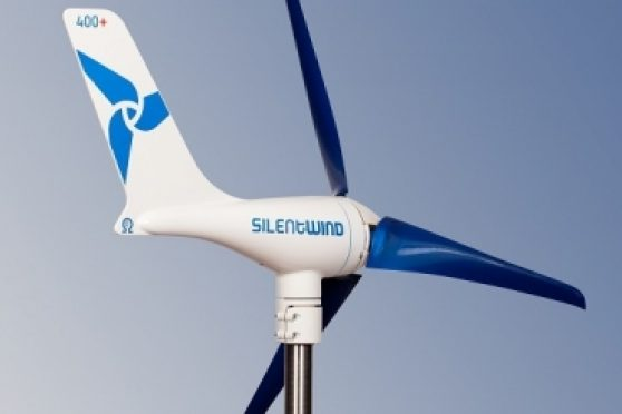 Wind power to charge boat batteries